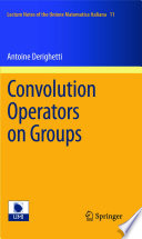 Convolution Operators on Groups
