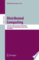Distributed Computing : conference on distributed computing, disc...