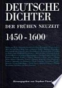Deutsche Dichter der frühen Neuzeit (1450-1600)