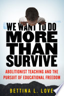 We Want to Do More Than Survive Book PDF