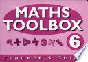 Maths Toolbox Year 6 Teachers Notes