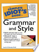 The Complete Idiot s Guide to Grammar and Style
