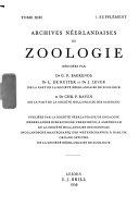 Netherlands journal of zoology