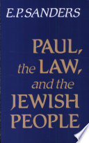 Paul  the Law  and the Jewish People