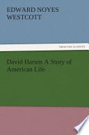 David Harum A Story of American Life