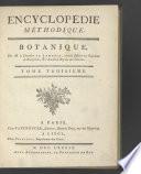 Encyclop  die m  thodique  Botanique