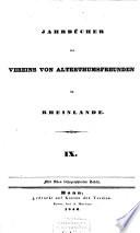 Jahrbücher des Vereins von Altertumsfreunden im Rheinlande