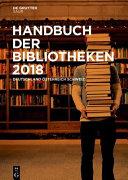 Handbuch der Bibliotheken 2018