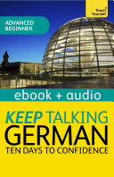Keep Talking German Audio Course   Ten Days to Confidence
