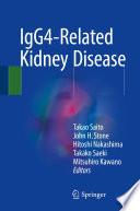 IgG4 Related Kidney Disease