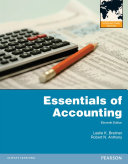 Essentials of Accounting International Edition