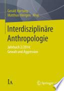 Interdisziplin  re Anthropologie