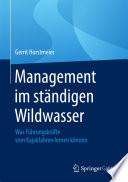 Management im ständigen Wildwasser