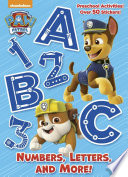 Numbers  Letters  and More   PAW Patrol