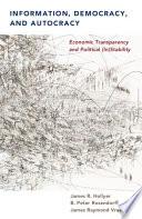 Information, Democracy and Autocracy