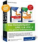 Das Komplettpaket LPIC 1   LPIC 2   das gesamte Pr  fungswissen    Bundle der Titel  LPIC 1  und  LPIC 2  zum g  nstigen Preis   Vorbereitung auf die Pr  fungen LPI 101  102  201  2012   kommentierte Testfragen   Pr  fungssimulator mit sofortiger Auswertung