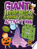 Giant Halloween Spooktacular Activity Book