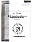 download ebook york county energy partners cogeneration facility, north cordorous township pdf epub