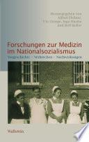 Forschungen zur Medizin im Nationalsozialismus