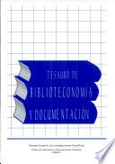 Tesauro de biblioteconom  a y documentaci  n