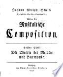 Über die Musikalische Composition