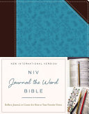 NIV  Journal the Word Bible  Imitation Leather  Brown Blue