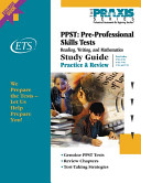 Study Guide for the Pre Professional Skills Tests