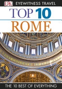 DK Eyewitness Top 10 Travel Guide  Rome