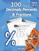 Humble Math 100 Days Of Decimals Percents Fractions