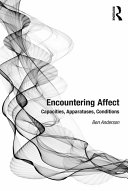 Encountering Affect : sciences and humanities. debates abound...