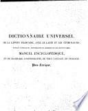 Dictionnaire universel de la langue française, avec le latin et l'étymologie
