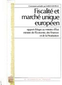 Fiscalité et marché unique européen