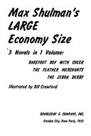 download ebook max shulman's large economy size, 3 novels in 1 volume pdf epub