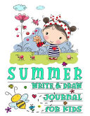 Summer Write And Draw Journal For Kids
