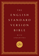 English Standard Version Bible with Apocrypha