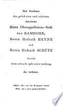 Geschichte der Weiber im heroischen Zeitalter