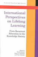 International Perspectives On Lifelong Learning book