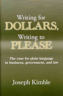 Writing for Dollars  Writing to Please
