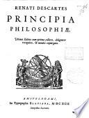 Renati Descartes Principia philosophiae