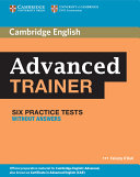 6 Practice Advanced Trainer Six Practice Tests Without Answers