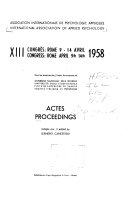 Proceedings [of the Congress]