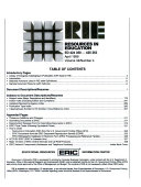 Eric Resources In Education book