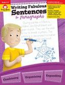 Writing Fabulous Sentences Paragraphs