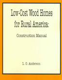 Low Cost Wood Homes for Rural America