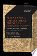 Preparation for Natural Theology