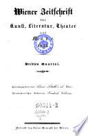 Wiener-Moden-Zeitung und Zeitschrift für Kunst schöne Literatur und Theater
