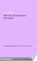 Minority Shareholders  Remedies
