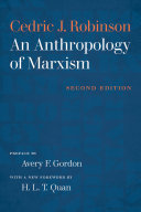 An Anthropology of Marxism