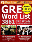 2018 GRE Word List