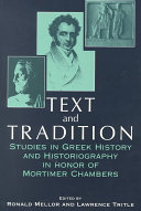 Text   tradition